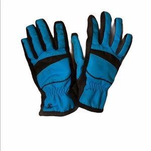 Fleece winter driving tech gloves